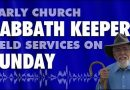 Early Church Sabbath Keepers Held Services on Sunday